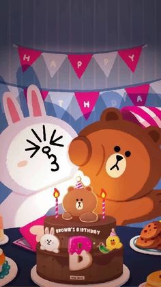 Hello Kitty Backgrounds, Cute Backgrounds, Cute Wallpapers, Cute Couple Cartoon, Cute Love Cartoons, Line Cony, Cutest Kittens Ever, Dream Illustration, Cony Brown
