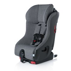 Foonf The mother of all car seats Description: Proudly manufactured in Canada, The Clek Foonf is the mother of all car seats Its patented REACT (Rigid-LATCH Energy Absorbing Crumple Technology) safety
