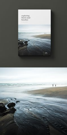 The dark tones in the black sand helps bring out subtle textures - particularly in low light. In this shot I've used Lightroom to accentuate some of this beautiful detail, it's definitely one of my favourite environments to shoot in.