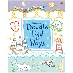 Usborne Doodle Pad for Boys