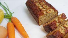 Bananen-Wortelcake - Gezond leven en glutenvrij eten, met een lactose intolerantie!