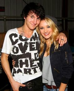 Mitchell Musso and Emily Osment