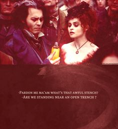 """Pirelli's Miracle Elixir"" Sweeny Todd quote"