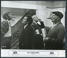 The Homecoming '73 PAUL ROGERS MICHAEL JAYSTON CYRIL CUSACK IAN HOLM SMOKING
