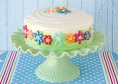 Jelly Belly Flower Cake - by Glorious Treats