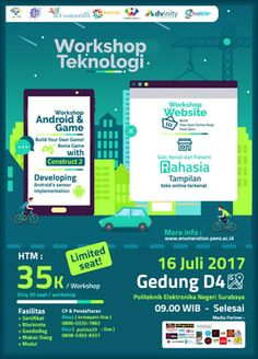 #ENUMERATION #WorkshopTeknologi #WorkshopAndroid #WorkshopGame #WorkshopWebsite #PENS #Surabaya ENUMERATION Workshop Teknologi 2017 Workshop Android, Workshop Game, Workshop Website  ACARA: 16 Juli 2017  http://infosayembara.com/info-lomba.php?judul=enumeration-workshop-teknologi-2017-workshop-android-workshop-game-workshop-website