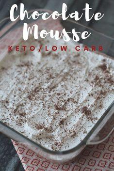 Keto/Low Carb Chocol