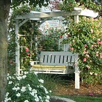 Arbour swing - beautiful