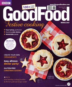 BBC Good Food Middle East Magazine  December 2011 Issue | BBC Good Food Middle East is a must-have for everyone who loves cooking and eating. It's full of mouth-watering ideas for quick everyday dishes, inspirational entertaining and any recipes you've ever dreamt of – all devised to save you time and effort. Food news, chef interviews, what's new in the shops, gadgets, tips, giveaways and competitions – you'll find it all in BBC Good Food Middle East. Elegantly designed, the magazine is…