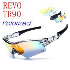 Nice Deal $14.06, Buy Polarized Goggles Airsoftsports Tactical Radar path Radarlock Outdoor Sports Cycling Bicycle Bike Sunglasses MTB 5 Lens