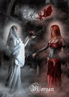 Angel And Devil Photo: This Photo was uploaded by hmaddict. Find other Angel And Devil pictures and photos or upload your own with Photobucket free imag. 3d Fantasy, Fantasy World, Dark Fantasy, Fantasy Artwork, Angel Demon, Angel And Devil, Demon Wings, Vs Angels, Angels And Demons
