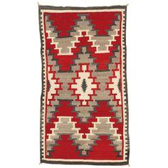 Vintage Navajo Rug 3.6x6.6