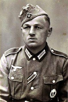 """Portrait du """"Unteroffizier"""" Gustav Römer"""