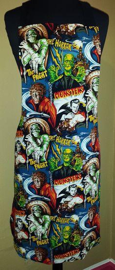 Unisex Classic Monster apron $40 Seth@houseofsandol.com Copyright ©2011-14 HOUSE OF SANDOL