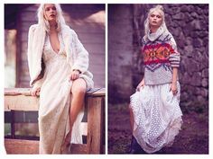Free People lookbook осень зима 2016 2017