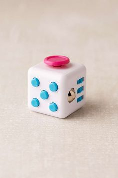 Urban Outfitters Fidget Cube. I like this better than the spinners. afflink