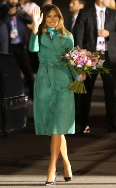 Emerald Lady: Melania Trump's Best Looks....actually our First Lady always looks amazing ❤️❤️