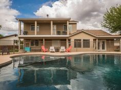 Spacious home located in the heart of Southern Utah - Has everything you need for the perfect getaway for families, outdoor adventurers, and traveling sports teams! **Private pool and hot tub that are fully fenced ...
