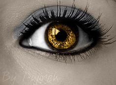 Werewolf eye by Pujinek.deviantart.com on @DeviantArt