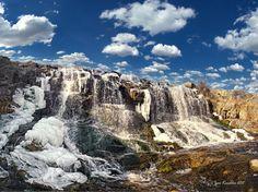 Waterfall, Kryvy Rih, Ukraine