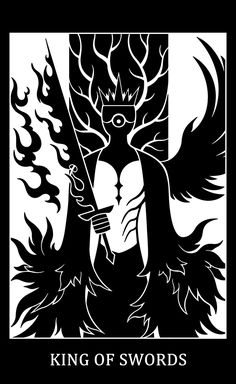 SCP Foundation art, SCP Tarot Card - King of Swords: - The Gate Guardian. Dr Clef's Proposal: The Gate Guardian by DrClef: www. King of Swords - The Gate Guardian Yu The Great, Page Of Pentacles, King Of Swords, The Hierophant, Reality Kings, Winged Horse, Online Tarot, Occult Art, Paint Cards
