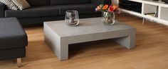 coffee table out of concrete Concrete Coffee Table, Designer, Indoor, Furniture, Home Decor, House, Interior, Decoration Home, Room Decor