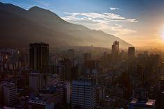 Vista de la Ciudad de Caracas, capital de Venezuela