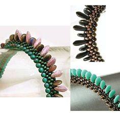 Triangular Bead Crochet Ropes eBook by Judith Bertoglio-Giffin - Here Be Dragons