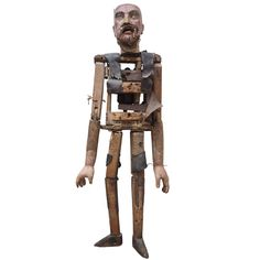 Late 18th to Early 19th Century Marionette Figure   From a unique collection of antique and modern curiosities at https://www.1stdibs.com/furniture/more-furniture-collectibles/curiosities/