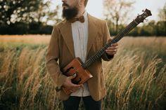 Cassie Cook Photography | Memphis TN and destination wedding photographer | boho wedding inspiration | groom attire + cigar box guitar