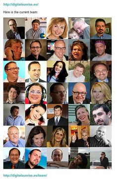 DSEU Team - Digital Sunrise Europe - largest social media initiative in Europe