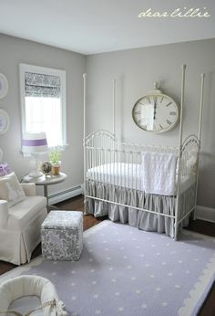 SO much to see in this gorgeous baby girl nursery makeover. So pretty :) @Jennifer Crotty Holmes - Dear Lillie