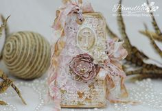 From Pamellia Johnson in Toronto, Ontario, Canada. My Little Craft Things: Card Mania GDT - #57 Tags - My Card of Tags