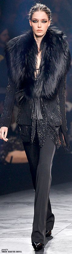 Roberto Cavalli Fall/Winter 2014 Milan Fashion Week | The House of Beccaria~