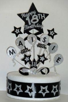Details about Balloons Birthday Cake Topper Any Name & Age Luftballons Geburtstagstorte Beliebiger Name & Alter Balloon Birthday Cakes, Cool Birthday Cakes, Birthday Cake Toppers, Balloon Cake, Boys 18th Birthday Cake, Purple Birthday, Birthday Month, Cricut Cake, Sparkle Cake