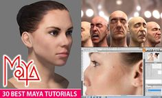 30 Best Maya Tutorials and Instruction Videos for Beginners. Read full article: http://webneel.com/maya-tutorials-videos-beginners | more http://webneel.com/animation | Follow us www.pinterest.com/webneel