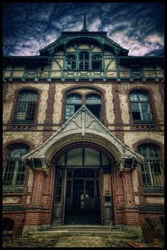 The Beelitz-Heilstätten medical complex, consisting of about 60 now abandoned buildings, was once the military hospital of the Imperial German Army, beginning with World War 1.  I am incredibly fascinated with this historical location and would love to visit some day.