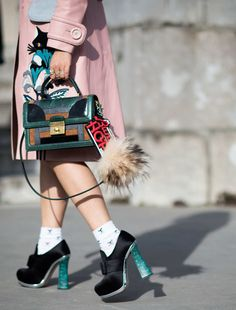 This Woman _ Miu Miu heels.