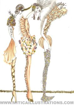 Fashion Illustration III Photo:  This Photo was uploaded by rochellebell. Find other Fashion Illustration III pictures and photos or upload your own with...