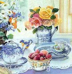 Susan Rios- Strawberries-and-Tea