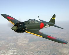 Between March 1939 and August 1945, a grand total of 10,936 Zero fighters was produced in Japan, with 6,215 examples of the Mitsubishi design actually being produced under license by Nakajima. Description from warbirddepot.com. I searched for this on bing.com/images