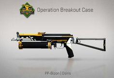 Counter-Strike Global Offensive: Operation Breakout Case: PP-Bizon Osiris