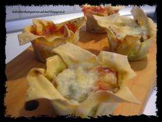 Lasagne Cupcake ( Doppia versione ) ~ Fabio Barbato Personal Chef