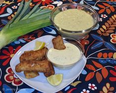 Needed a little Irish comfort food...Potato & Leek Soup with Cod Goujons & Dijon Tartar Sauce #irishfood #comfortfood #stpatricksdayrecipes #stpatricksday #potatosoup #fishrecipes **recipes for BOTH are on the blog now**