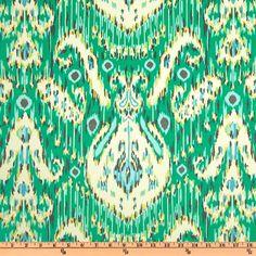 Amy Butler Home Décor Lark Kasbah Emerald - Discount Designer Fabric - Fabric.com
