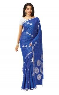 The Chennai Silks -Blue Color Soft Silk Saree Soft Silk Sarees, Silk Sarees Online, Office Wear, Looking Stunning, Chennai, Printing On Fabric, Hand Weaving, Dress Up, Pure Products