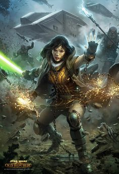 Jedi, what I wanted to be when I grew up, :-)