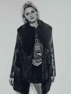 visual optimism; fashion editorials, shows, campaigns & more!: lara stone by richard bush for l'express styles september 2015
