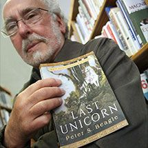 Peter S. Beagle, known for The Last Unicorn will be at New York Comic Con - NYCC
