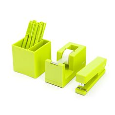 Amazon.com : Starter Set Color: Lime Green : Office Products